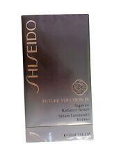 Shiseido Future Solution LX Superior Radiance Serum Intense 30mL 1OZ. New Sealed