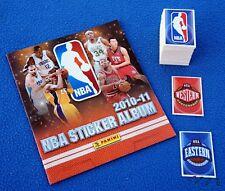 PANINI NBA Basketball 2010/11, empty album + complete sticker set