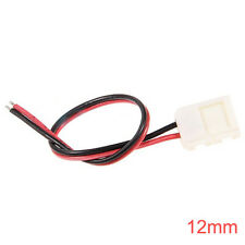 12mm LED Connector For Single Color LED Strip Lights With Wire