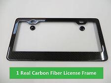 CARBON FIBER License Plate Frame 100% Real Carbon Car Tag Cover fit honda #1