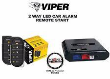 Viper 5806V 2 Way Auto Remote Start & Alarm w/ Bypass Dball2 Module R/B