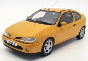 Otto 1/18 Scale Model Car OT343 - 2001 Renault Megane Coupe 2.0 16v - Yellow
