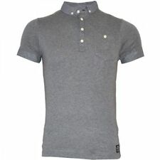 Crosshatch Patternless Fitted Short Sleeve T-Shirts for Men
