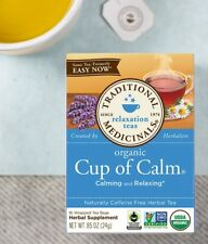 Traditional Medicinals Cup of Calm Easy Now organic tea