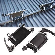 Pair Bike Block QR Alloy Fork Mount For Pickup Truck Bed Rack Carrier Holder
