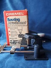 Vgt. 1980 Dremel Routing Attachment in box for use with Moto-Tools Model 229