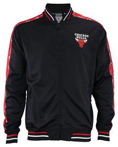 Zipway NBA Basketball Men's Chicago Bulls Signature Basics Track Jacket, Black