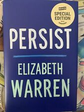 NEW Elizabeth Warren Book Persist Special Edition by Move On Hardcover 1st Ed