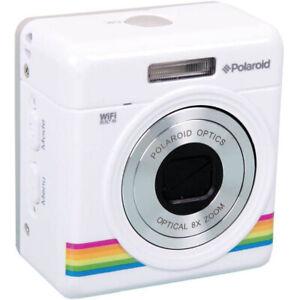 Polaroid iE877 iZone Mini Zoom Camera 18 MP - White