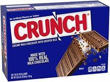 Nestle Milk Chocolate Crunch Bars, Full Size Bulk 1.55 Ounce (Pack of 36)