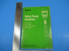 Vintage 1974 Medical Dosage Calculations Module M Cummings Publishing Co. S4431