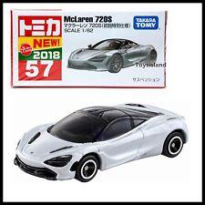TOMICA 57 McLaren 720S 1/62 2018 DEC NEW TOMY First edition