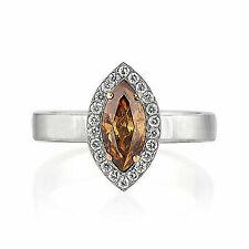 0.90 Ct. Diamond Ring in 18k White Gold