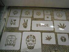 Hippie 70's Stencil Set!
