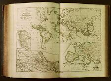 1854c,SPRUNER ATLAS:Proiezione Mercatore Colonie SPAGNA-PORTGALLO.Nel Mondo.ETNA