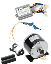 350W 36V DC electric motor 1016 kit w Speed controller+Thumb Throttle+Key Lock