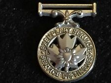 Miniature Peace Officer Exemplary Service Medal