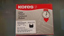 Kores Farbband Gruppe 177c Olivetti Et 55 Carbon schwarz