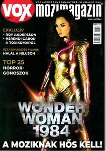 GAL GADOT,WONDER WOMAN 1984,ARMIE HAMMER, SOPHIA  COPPOLA  Hungarian magazine