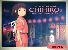 """CHIHIRO'S REISE INS ZAUBERLAND"" - Ghibli - Myazaki - Presseheft / Pressbook"
