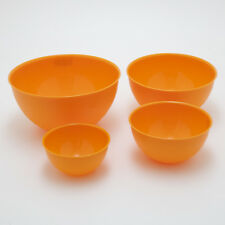KIMPRO Bable Schalen Set 4 Orange 0,75 / 1,5 / 3 / 6 L Schüssel Salat Obst
