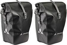 Vaude Aqua Back 2er-Set schwarz wasserdicht Fahrradtasche Packtasche Satteltasch