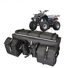 Motorcycle ATV Cargo Bags Motorcycle Tail Bag Luggage Saddlebags ATV Luggage Bag