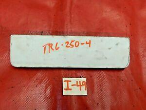 Triumph TR6, TR250, TR4, Fresh Air Vent Cover or Flap w/ Spring & Control Rod, !
