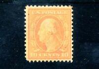 USAstamps Unused FVF US Serie of 1908 Washington Scott 338 OG MLH