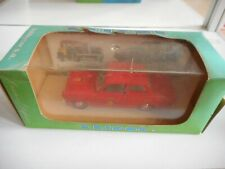 Eligor Ford Cortina Pompiers 1965 in Red on 1:43 in Box
