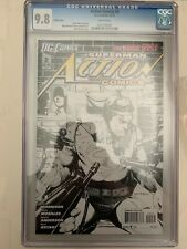 Action Comics #2 Sketch Variant CGC 9.8 White Pages 1st Print