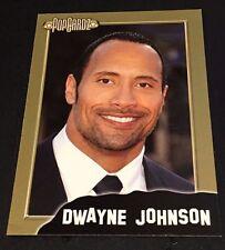 DWAYNE '' THE ROCK '' JOHNSON 2008 Popcardz GOLD Parallel Card SP  #15 WWE WWF