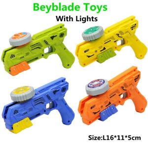Beyblade Burst Launcher Gift Spinning Starter Kids Grip With Gyro Metal Fusion