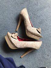 Size 5 Eur 38 Iron Fist Heels