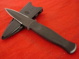 "Gerber Made in USA X1603S 7.25"" Fixed Blade Dagger Sheath Knife"