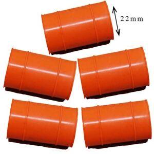 Set of 5 KTM Rubber Exhaust Seals Orange 22mm fits 2006 65 SX US