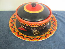 CERTIFIED INTERNATIONAL DINNERWARE TEX MEX HOT PEPPERS  LA CABANA COVERED DISH +