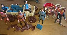 Legends of the West Buckboard and Action force Figures 1973 cowboys indians