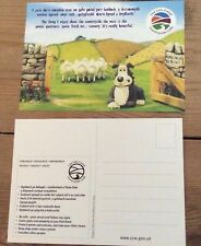 Aardman Animation Wallace & Gromit Creature Comforts promotional postcard new