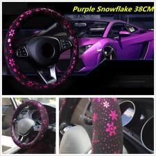 "Car Steering Wheel Cover Snowflake 37-38 CM/15""/M For Toyota Honda Nissan Mazda"