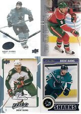 SAN JOSE Sharks Brent Burns 4 Card Lot ICE MVP OPC & Fleer Ultra