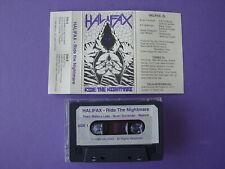1988 Halifax Ride The Nightmare DEMO Cassette Produced Jon Oliva Savatage Metal