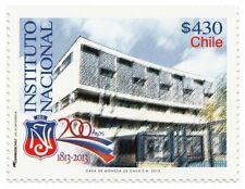 Chile 2013 #2499 200 años Instituto Nacional MNH