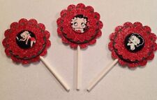 Betty Boop Cupcake Toppers - Betty Boop Birthday - Betty Boop Party Decor