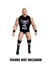 WWE Brock Lesnar 'The Next Big Thing' Custom Shirt For Mattel Figures.