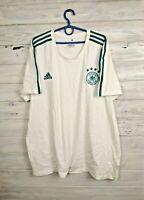 Germany Jersey Training Size XXL Shirt Mens Trikot Football White Adidas CW1374