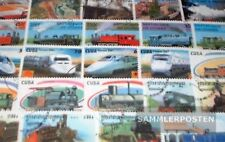 motivos 100 diferentes ferrocarriles sellos