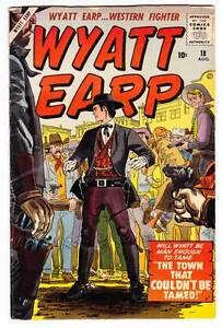 WYATT EARP #18 - 1958 Atlas Western - Fine condition - Joe Maneely cover