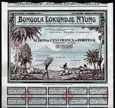 1927 Douala, Cameroun, Afrika: Bongola Lokundje N'Yong