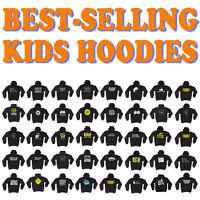 Kids Hoodie Childrens Hoody Jumper Funny Novelty - SUPER VARIOUS DESIGNS BK28